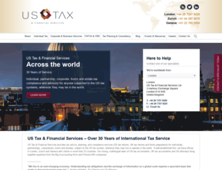 ustaxonline.com screenshot