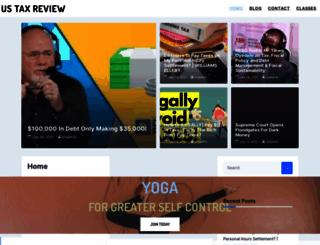 ustaxreview.org screenshot