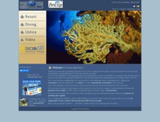 ustica-diving.it screenshot