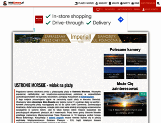 ustronie-morskie.webcamera.pl screenshot