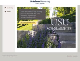 usu.awardspring.com screenshot