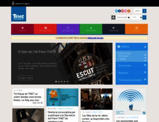 usuaris.tinet.org screenshot