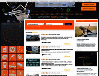 usuwanie-wgniecen.supermechanik.pl screenshot