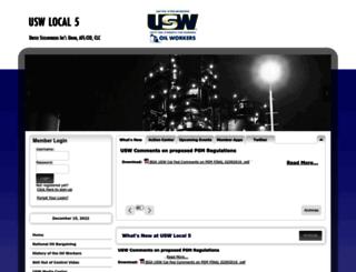 usw5.org screenshot