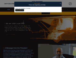 uswa8782.com screenshot