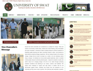 uswat.edu.pk screenshot