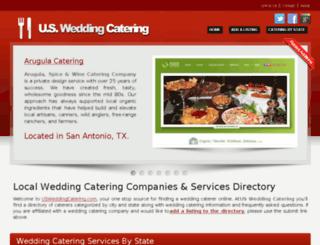 usweddingcatering.com screenshot