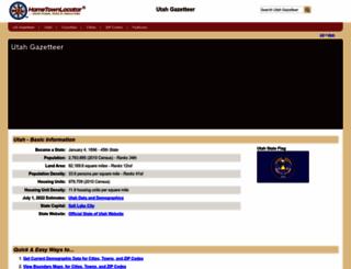 utah.hometownlocator.com screenshot
