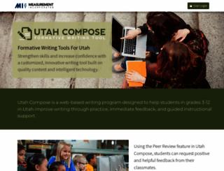 utahcompose.com screenshot