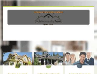 utahhomesbypaula.com screenshot