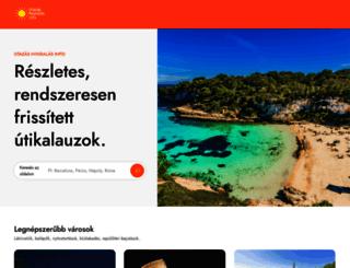 utazas-nyaralas.info screenshot