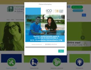 utbvirtual.edu.co screenshot