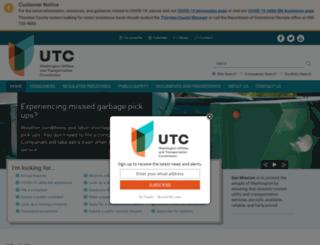 utc.wa.gov screenshot