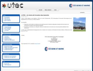 utec-tic.org screenshot