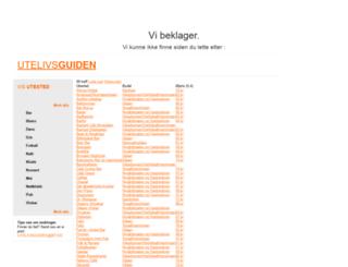 utelivsguiden.bt.no screenshot