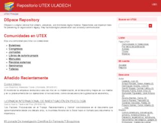 utex.uladech.edu.pe screenshot