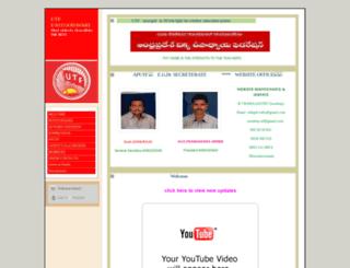 utfegdt.webs.com screenshot