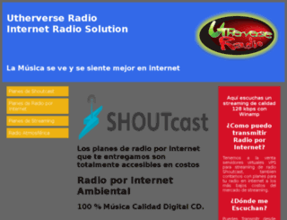 utherverseradio.com screenshot