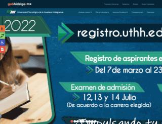 uthh.edu.mx screenshot