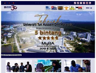 uthm.edu.my screenshot