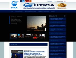 utica.org.tn screenshot
