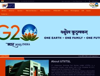 utiitsl.com screenshot