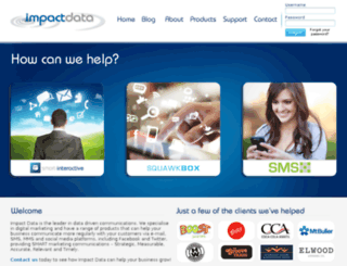 utils.impactdata.com.au screenshot