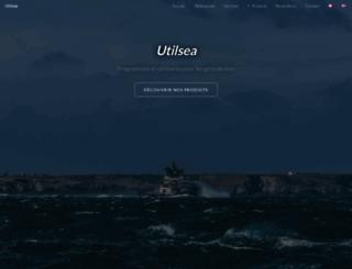 utilsea.free.fr screenshot