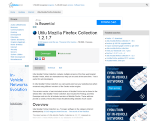 utilu-mozilla-firefox-collection.updatestar.com screenshot