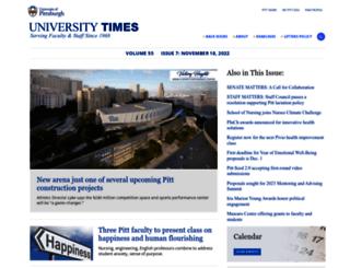 utimes.pitt.edu screenshot