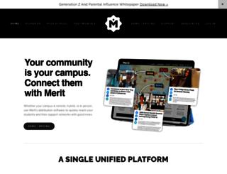 utoledo.meritpages.com screenshot