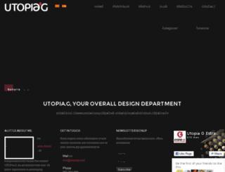 utopiag.com screenshot