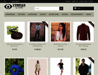 utopian.shop screenshot