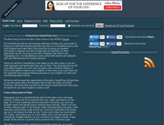 utopiashrimp.com screenshot