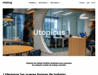 utopicus.es screenshot