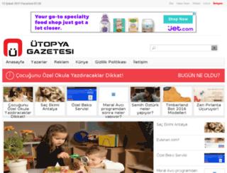 utopyagazetesi.com screenshot