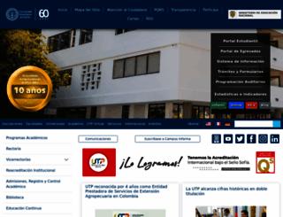 utp.edu.co screenshot