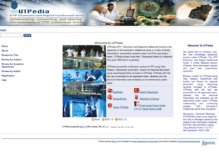 utpedia.utp.edu.my screenshot
