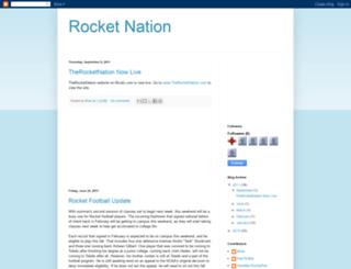 utrocketnation.blogspot.com screenshot