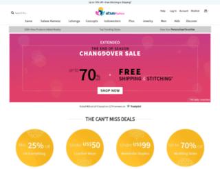 utsavsarees.com screenshot