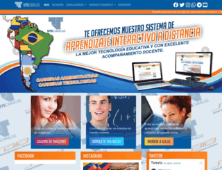 utscaracas.edu.ve screenshot