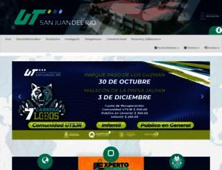 utsjr.edu.mx screenshot
