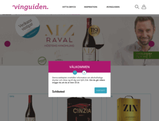 utskick.vinguiden.com screenshot