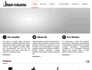 uttammachine.com screenshot