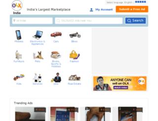 uttarpradesh.olx.in screenshot