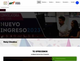 uttlaxcala.edu.mx screenshot
