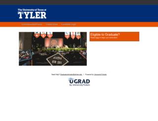 uttyler.universitytickets.com screenshot