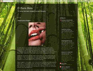 uturnhere.blogspot.com screenshot