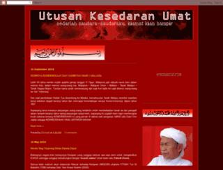 utusankesedaran.blogspot.com screenshot