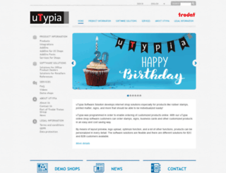 utypia.com screenshot